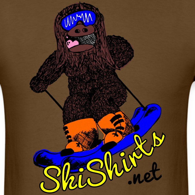 SkiShirts Sasquatch Logo T-Shirt