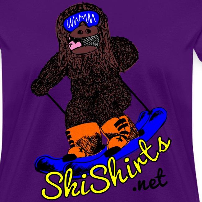 SkiShirts Sasquatch Logo T-Shirt - Women's
