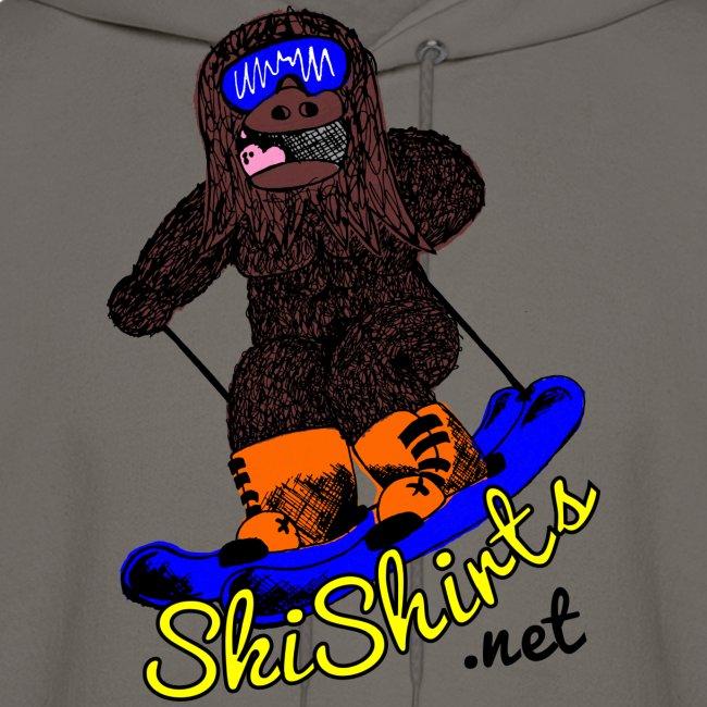 SkiShirts Sasquatch Logo Hoodie