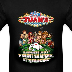 Big Juan's Card Game - Men's T-Shirt