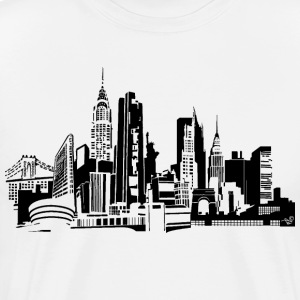 NYC Landmarks by Tai's Tees - Men's Premium T-Shirt