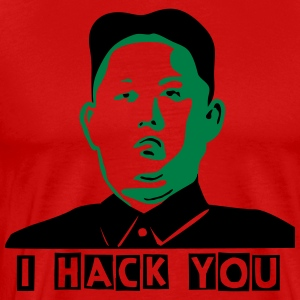 I hack you - Men's Premium T-Shirt
