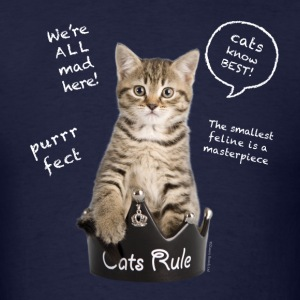 Cats Rule T-Shirts - Men's T-Shirt