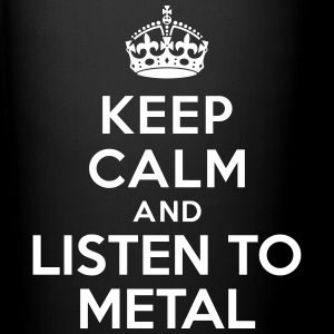 Keep calm listen to Metal Accessories - Full Color Mug