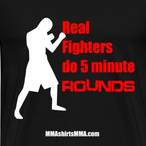 MMA shirts - Real fighters rounds - Men's Premium T-Shirt