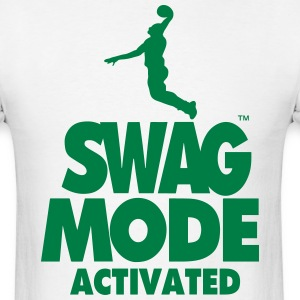 SWAG MODE ACTIVATED BASKETBALL - Men's T-Shirt