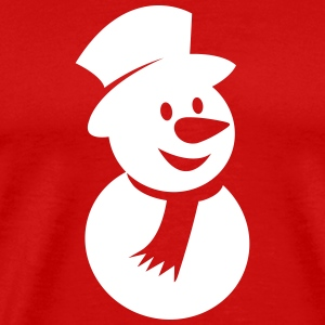Snowman Icon 4 T-Shirts - Men's Premium T-Shirt