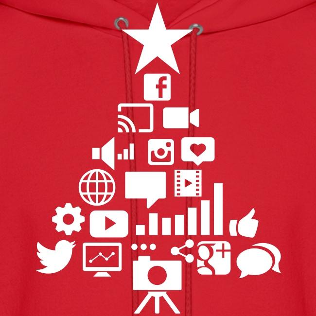 Social Blade Christmas Hoodie
