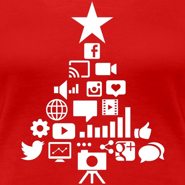 Social Blade Christmas Women's Shirt