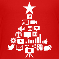 Design ~ Social Blade Kids Christmas Premium T-Shirt