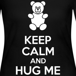 Keep Calm And Hug Me Long Sleeve Shirts - Women's Long Sleeve Jersey T-Shirt