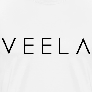 Veela Logo Men's Black Ink - Men's Premium T-Shirt