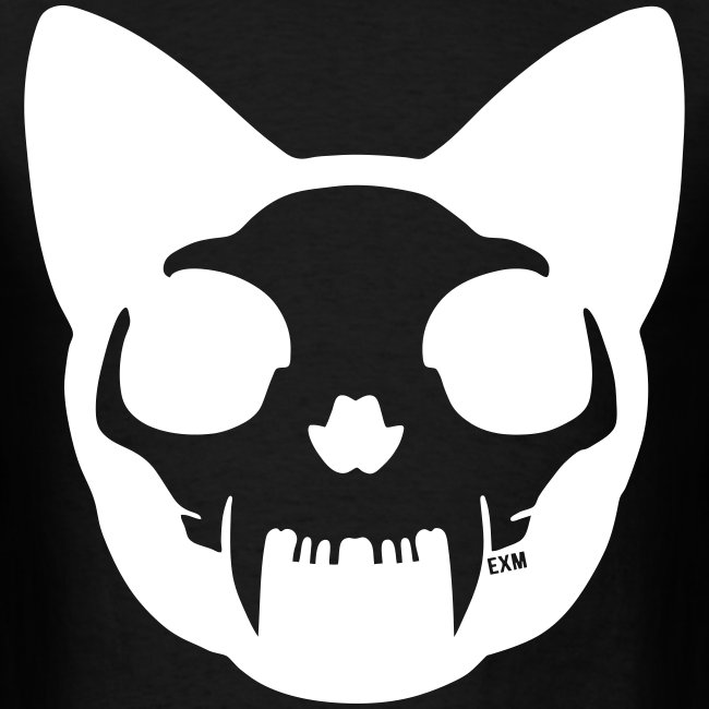 Cat Skull Inverted