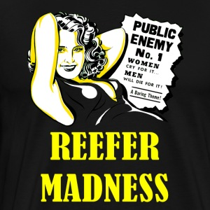 Reefer madnessYellow - Men's Premium T-Shirt