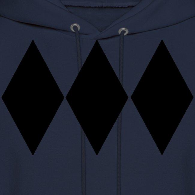 Triple Black Diamond Hoodie