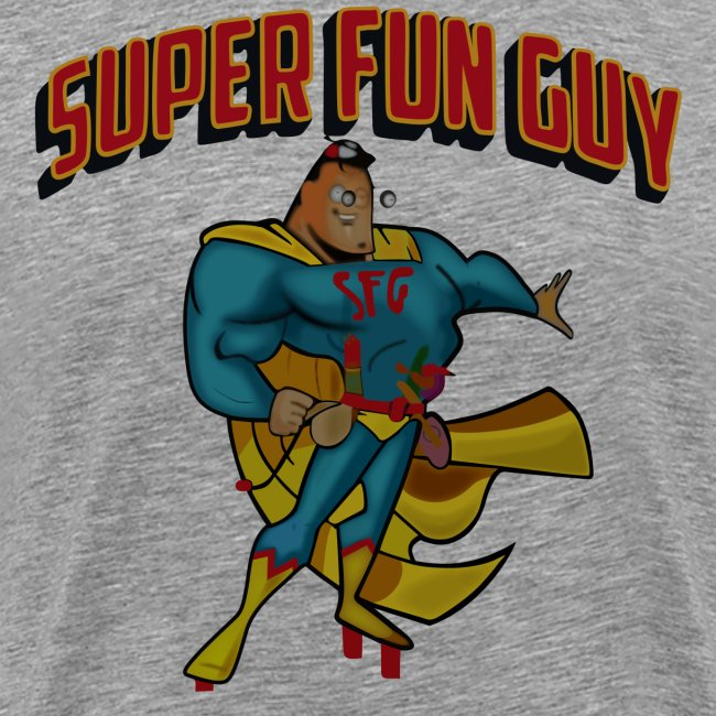 83b21b3c31 Scorpion Tees | Super Fun Guy - Mens Premium T-Shirt