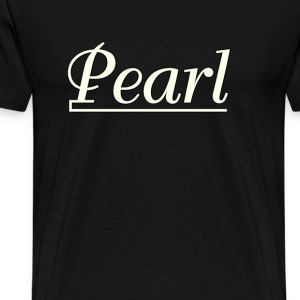 Pearl  Drums  White - Men's Premium T-Shirt