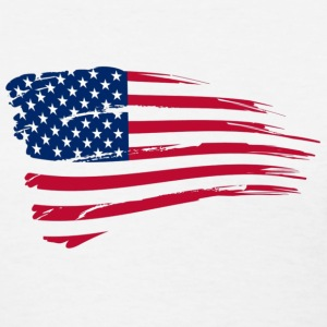 american flag - Women's T-Shirt