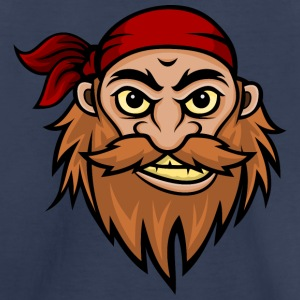 Bearded Pirate Mascot Kids' Shirts - Kids' Premium T-Shirt