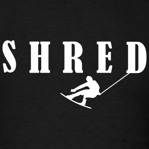 Wakeboard,Shred,Wakeboarding,water,boat T-Shirts - Men's T-Shirt