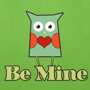 Be mine owl - Tote Bag