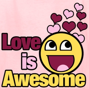 LOVE is awesome - Kids' T-Shirt