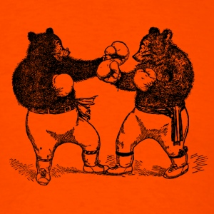 Boxing Fighting Bears - Men's T-Shirt