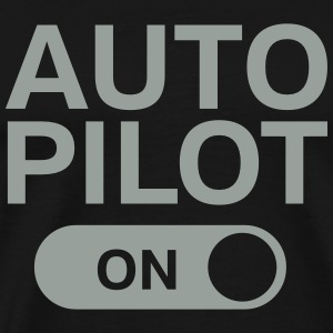 Auto Pilot (On) T-Shirts - Men's Premium T-Shirt