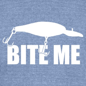 Bite Me - Unisex Tri-Blend T-Shirt by American Apparel