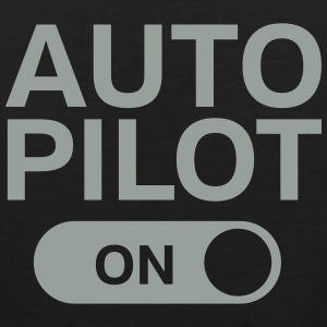 Auto Pilot (On) Tank Tops - Men's Premium Tank
