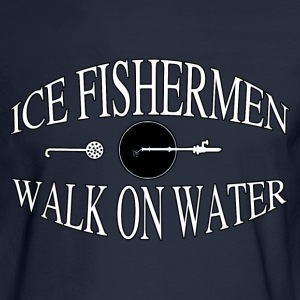 Ice fisherman - Men's Long Sleeve T-Shirt