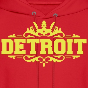 DETROIT michigan usa down with detroit Hoodies - Men's Hoodie