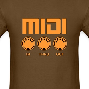 Midi  Orange - Men's T-Shirt