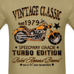 Vintage Classic Motorcycle T-Shirts - Men's T-Shirt