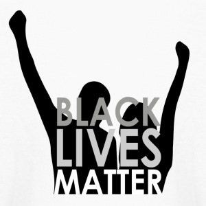 Black Lives Matter Long-Sleeved Shirt - Kids' Long Sleeve T-Shirt