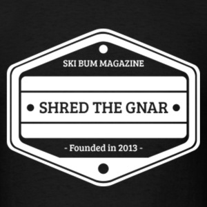 Shred The Gnar T-Shirts - Men's T-Shirt