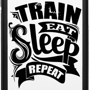 Train Eat Gym Workout - iPhone 6/6s Rubber Case