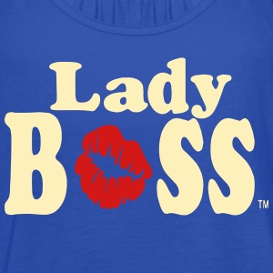 BOSS LADY - Women's Flowy Tank Top by Bella