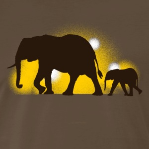 elephants T-Shirts - Men's Premium T-Shirt