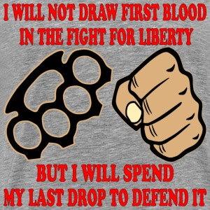I WILL Defend MY Freedom - Men's Premium T-Shirt