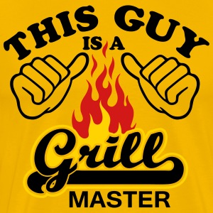 This Guy Is Grill Master - Men's Premium T-Shirt