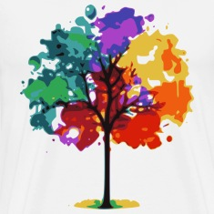 Color Tree T-Shirts