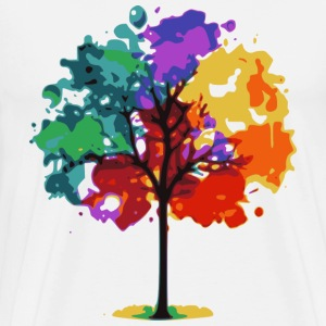 Color Tree T-Shirts - Men's Premium T-Shirt