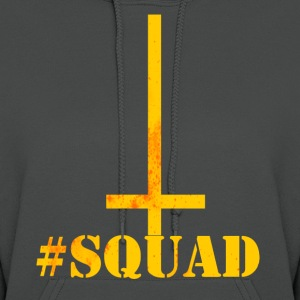 squad cross orange Hoodies - Women's Hoodie
