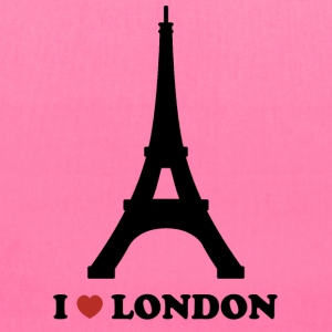 I Love London (Paris) - Tote Bag