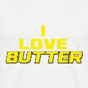 Butter Gold for Minecraft Lovers T-Shirts - Men's Premium T-Shirt