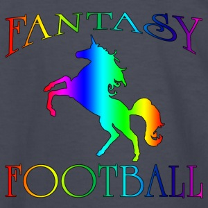 Fantasy Football Unicorn - Kids' Long Sleeve T-Shirt