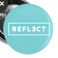 Design ~ REFLECT Buttons - Aqua