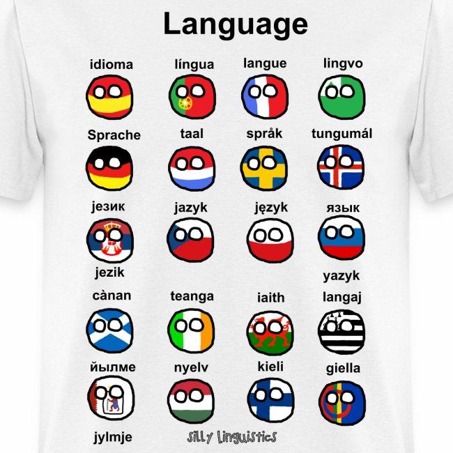Languages (European version)