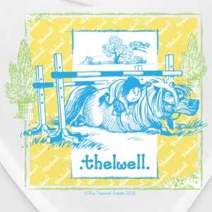 PonyFall blue yellow Thelwell Cartoon Caps - Bandana